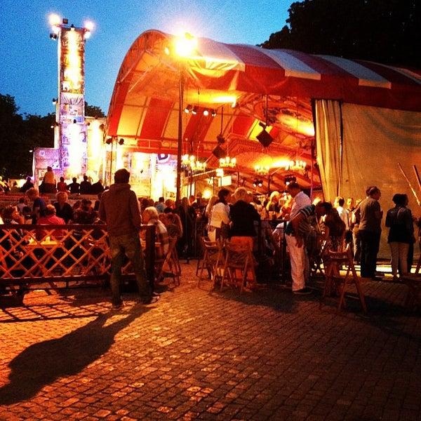 Photo taken at Festivalplein Theaterfestival Boulevard by Jeroen B. on 8/11/2012
