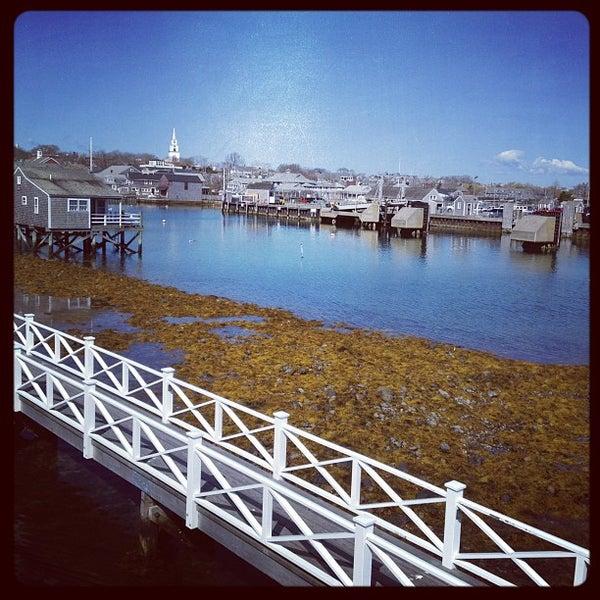 Photo taken at Nantucket Boat Basin by Sam J. on 4/13/2012