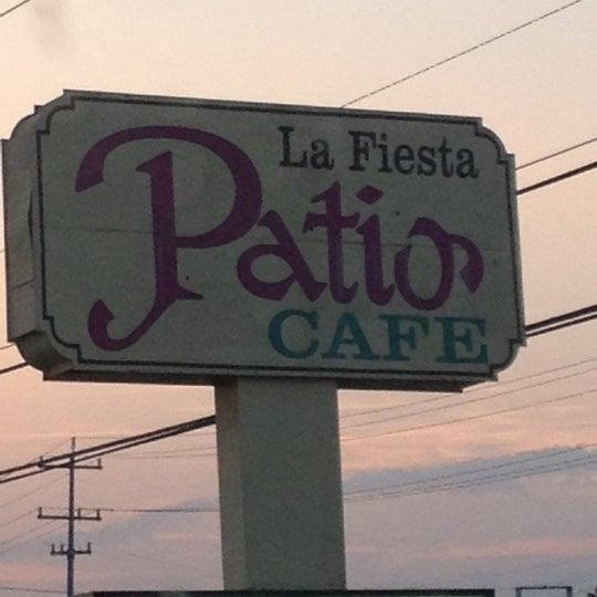 Photo Taken At La Fiesta Patio Cafe By Cynthia L. On 5/22/