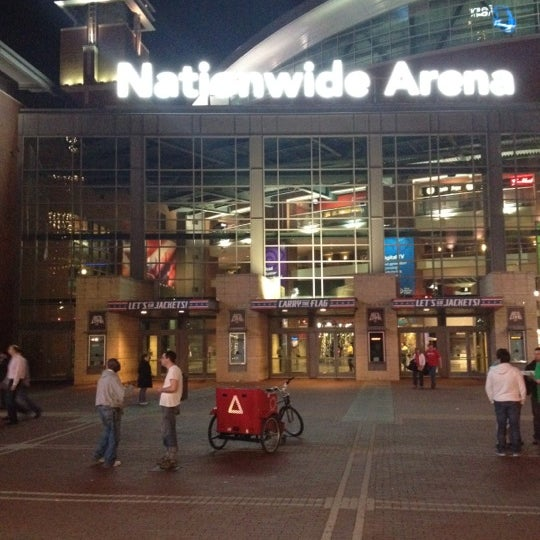 Photo taken at Nationwide Arena by Jason B. on 3/17/2012