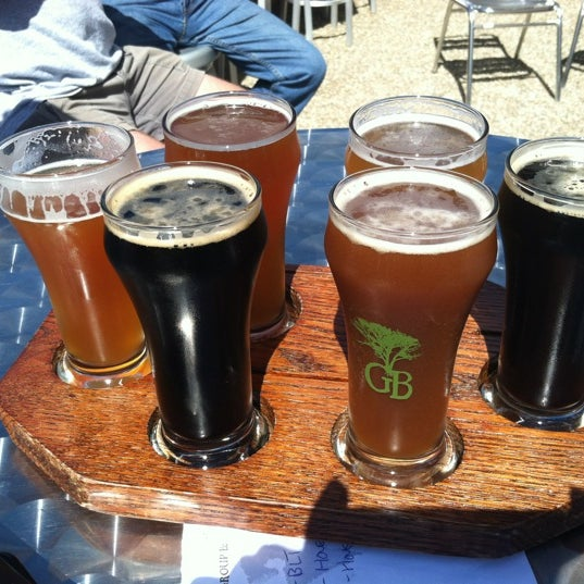 Photo taken at Greenbush Brewing Company by Karin W. on 9/8/2012