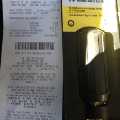 Photo taken at The Home Depot by Donovan E. on 8/4/2012