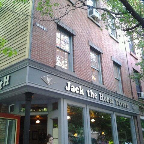 Photo taken at Jack the Horse Tavern by Karen H. on 5/6/2012