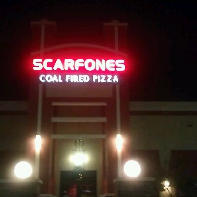 Photo taken at Scarfone's Coal Fire Pizza by Michael G. on 2/25/2012