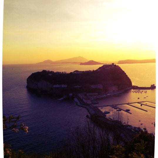 Photo taken at Isola di Nisida - Nisida Island by Vincenzo R. on 5/20/2012