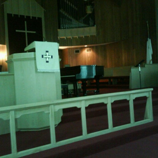 Photo taken at Grace United Methodist Church by Stephen J. on 8/12/2012