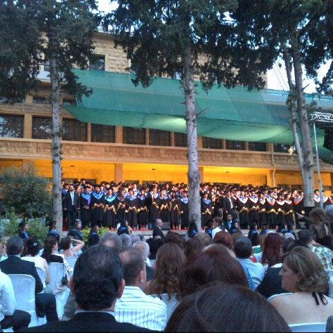 Photo taken at Holy Spirit University Of Kaslik by Georges A. on 7/21/2012