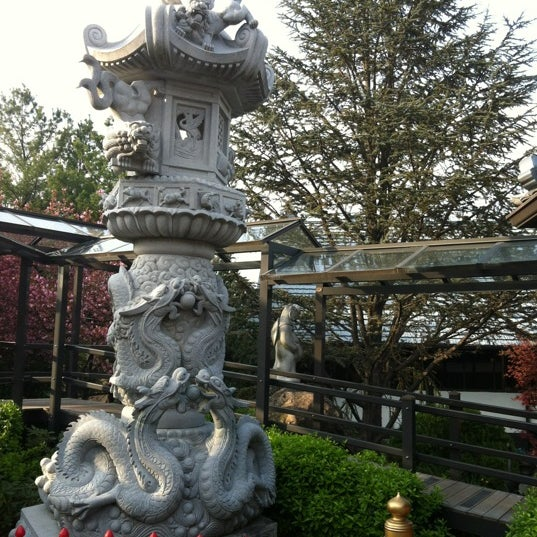 Photo taken at Mt. Fuji Japanese Steak House by Brian C. on 4/15/2012