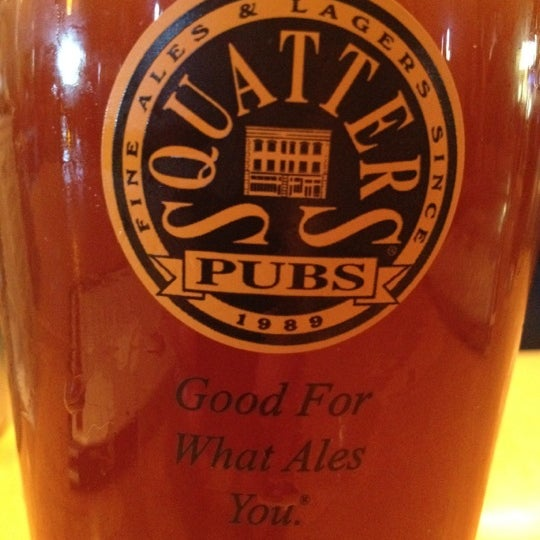 Photo taken at Squatters Pub Brewery by Monica M. on 6/27/2012