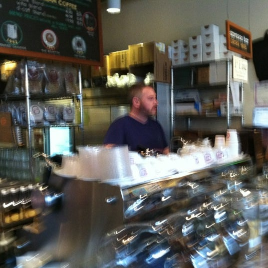 Photo taken at Espresso Vivace by Kaitlyn on 3/31/2012