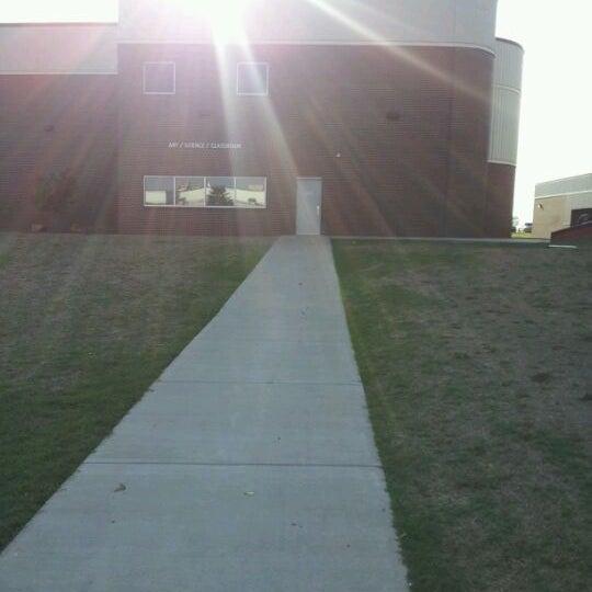 Photo taken at Redlands Community College by Jordan G. on 4/2/2012