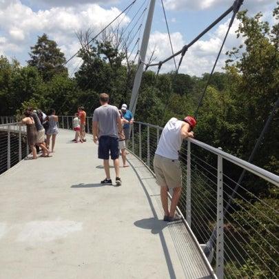 Photo taken at Liberty Bridge by Josmary H. on 8/12/2012