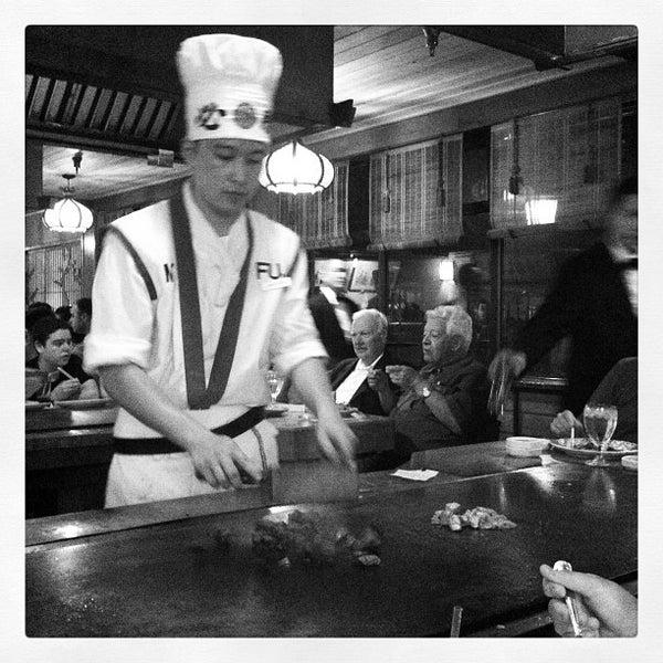 Photo taken at Mt. Fuji Japanese Steak House by Jose P. on 6/24/2012