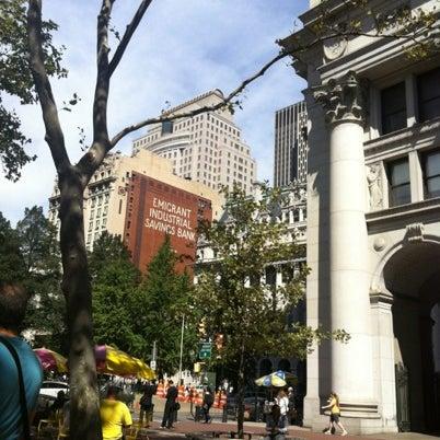 Photo taken at NYC Municipal Building by Kentaro I. on 9/11/2012