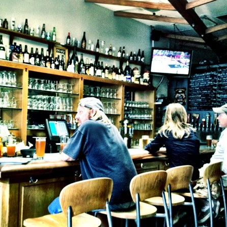 Photo taken at The Library Alehouse by Christopher T. on 8/4/2012