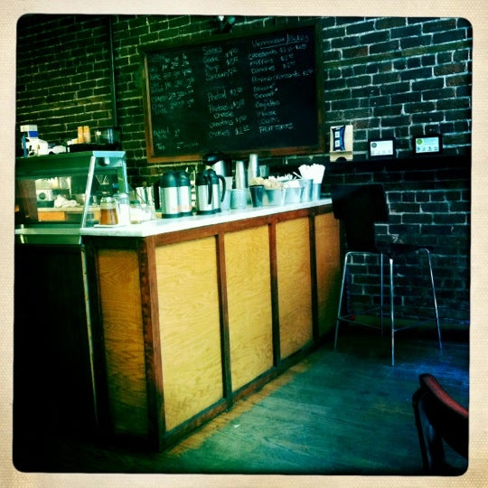 Photo taken at Almondine Bakery by Emilie N. on 6/29/2012