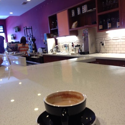 Photo taken at Stanza Coffee Bar by Eric J. on 8/2/2012