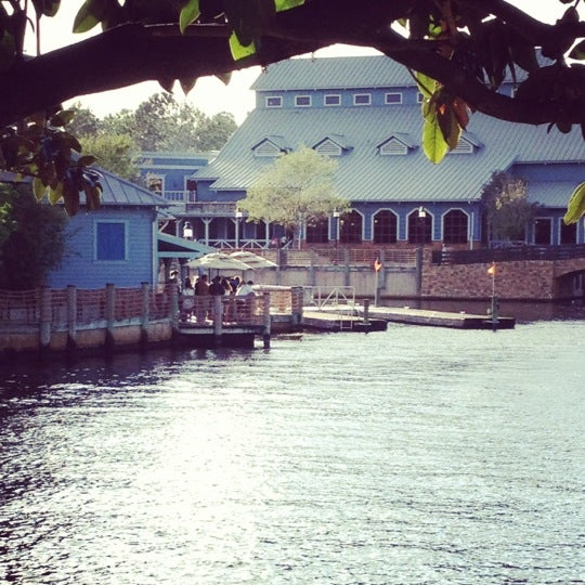 Photo taken at Disney's Port Orleans Riverside Resort by Jill K. on 4/9/2012