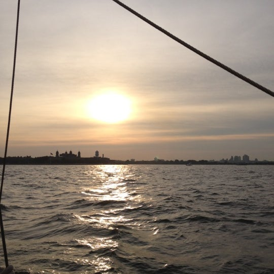 Photo taken at New York Harbor by Luigi A. on 7/6/2012