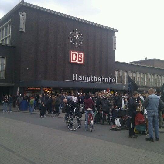 Photo taken at Duisburg Hauptbahnhof by Katerina K. on 6/1/2012