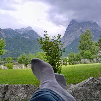 Photo taken at Edelweiss Lodge and Resort by Cory L. on 6/21/2012