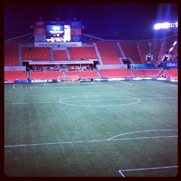 Photo prise au BBVA Compass Stadium par @jvincephoto le7/19/2012
