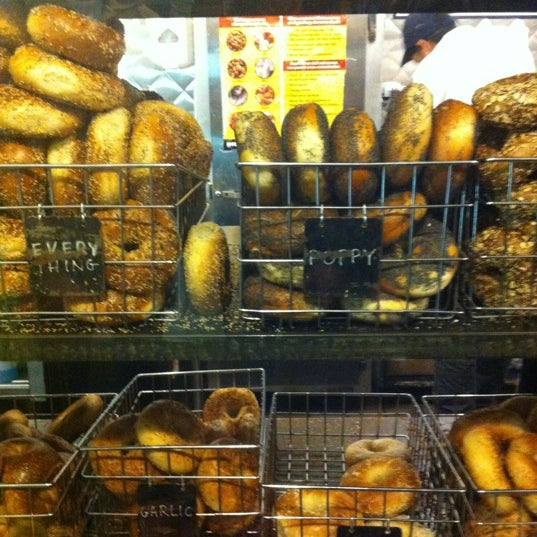 Photo taken at Murray's Bagels by Nicholas W. on 3/22/2012