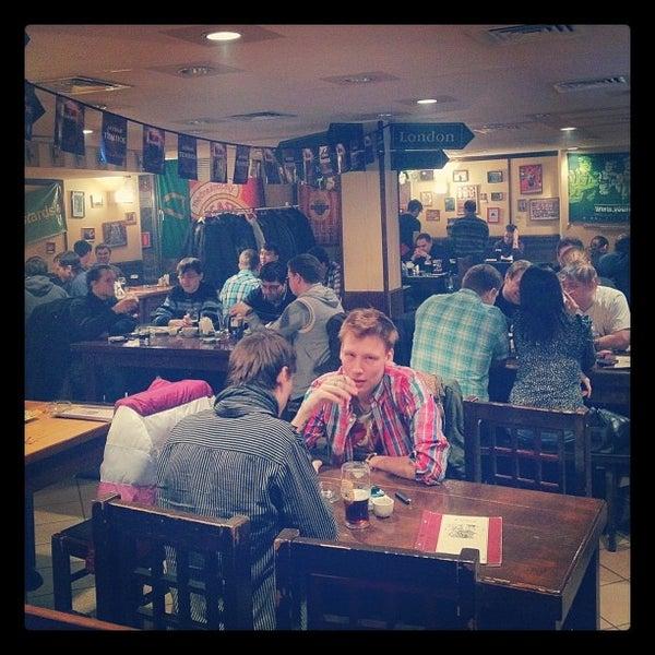 Снимок сделан в Molly Malone's Pub пользователем Kirill P. 3/23/2012