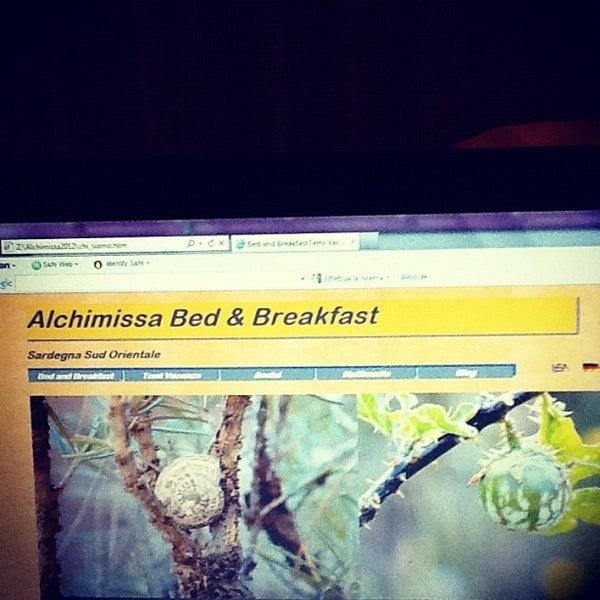 Foto scattata a alchimissa b&b da Lucia R. il 4/21/2012