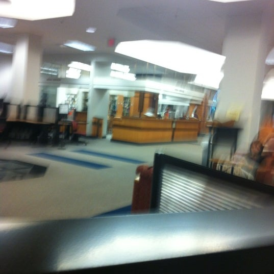 Photo taken at Monroe Library by Johmyrin J. on 4/21/2012