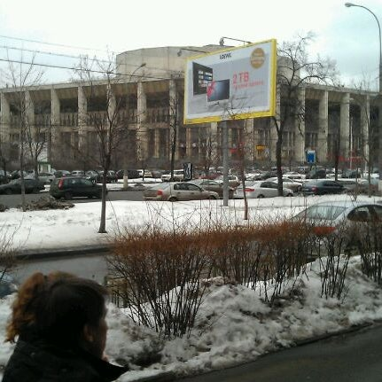 Photo taken at Московский дворец молодежи by Alex T. on 3/29/2012
