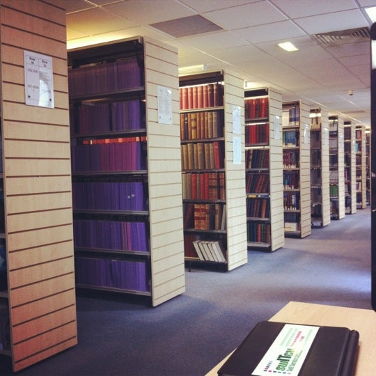 Photo taken at Northumbria University Library by Alina P. on 8/1/2012
