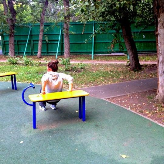 Снимок сделан в Щемиловский детский парк пользователем Maria V. 8/11/2012
