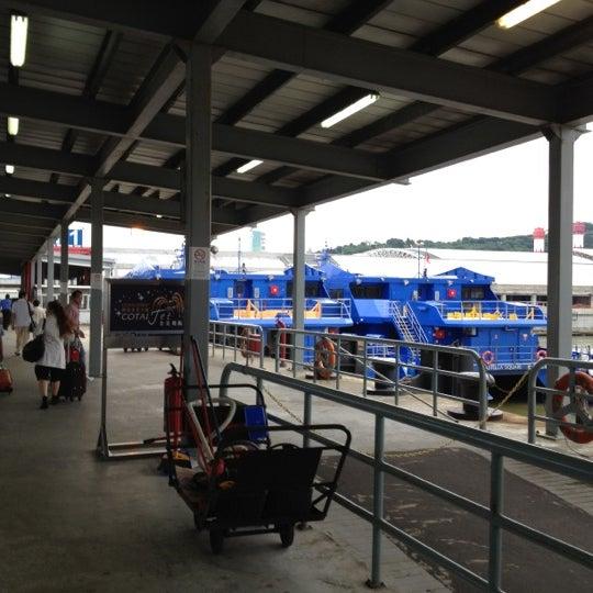 Photo taken at Taipa Ferry Terminal by Bao Kinoy C. on 5/17/2012