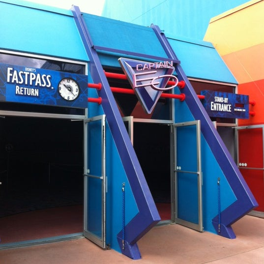 Photo taken at Captain EO by Jax B. on 7/15/2012