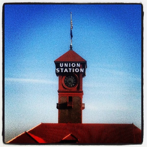 Photo taken at Union Station Amtrak (PDX) by Daniel G. on 3/5/2012