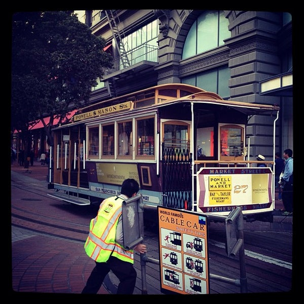 Powell Street Cable Car Turnaround