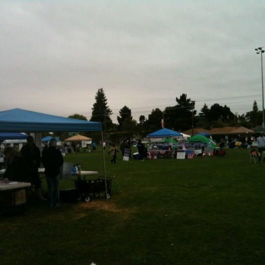 Photo taken at Burton Park by Cristina S. on 8/4/2012