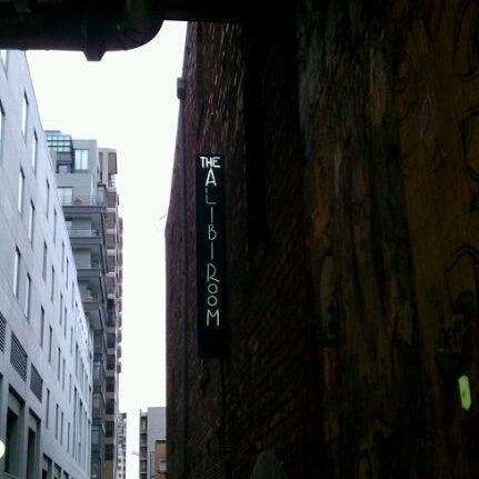 Photo taken at Alibi Room by Nick S. on 3/3/2012
