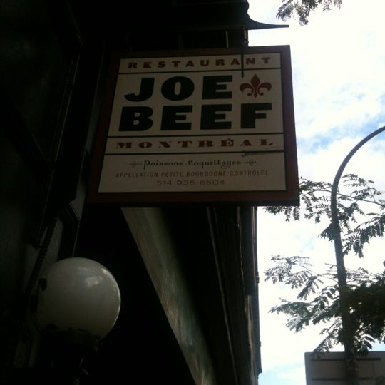 Photo taken at Joe Beef by LeSombre on 6/30/2012