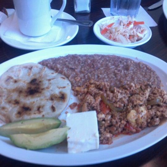 Photo taken at El Salvadoreño by Ken on 8/18/2012