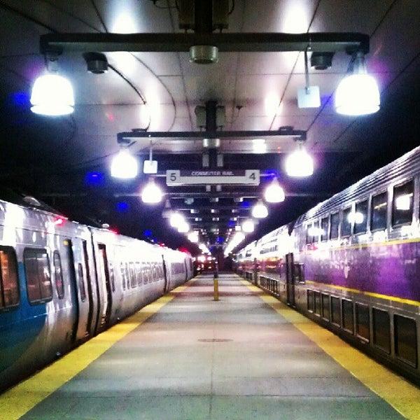 Photo taken at South Station Terminal (MBTA / Amtrak) by Taylor on 7/17/2012