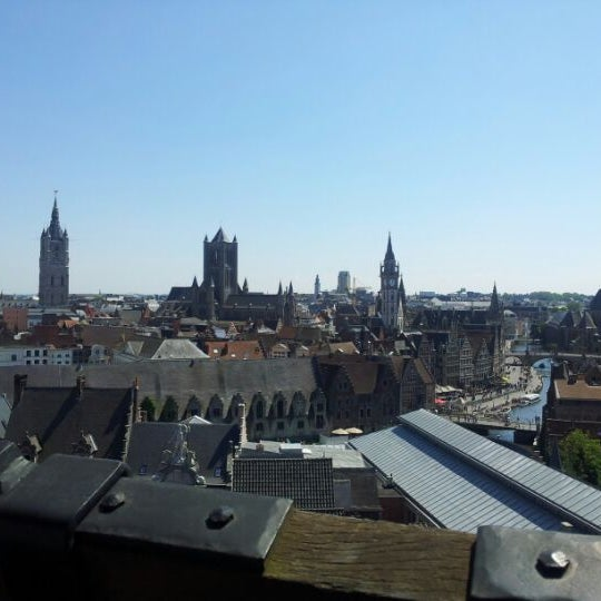Photo taken at Castle of the Counts by Nicolas D. on 5/28/2012