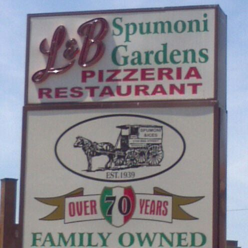Photo taken at L&B Spumoni Gardens by James M. on 5/12/2012
