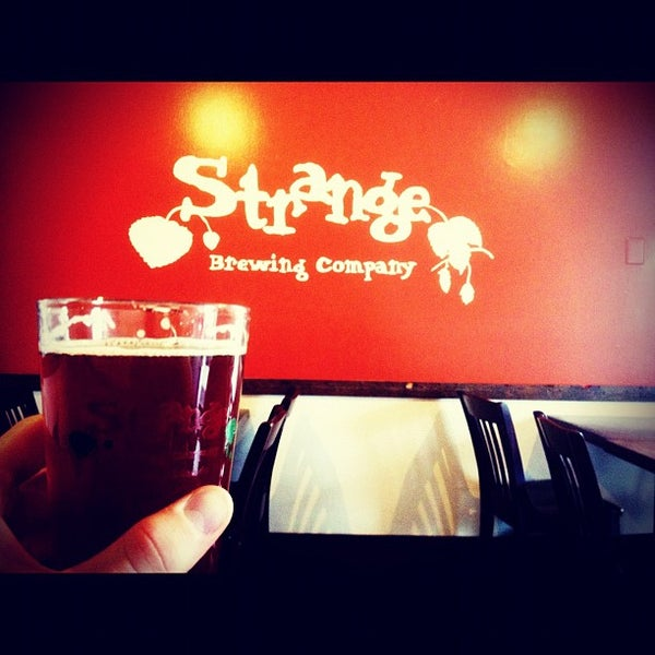 Photo taken at Strange Craft Beer Company by Jerad L. on 7/15/2012