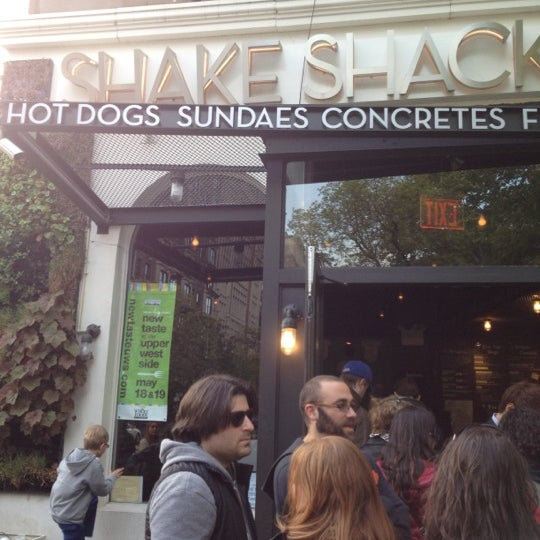 Photo taken at Shake Shack by Brian D. on 4/28/2012