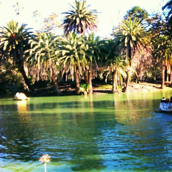 Photo taken at Parque José Enrique Rodó by Katherine D. on 8/20/2012