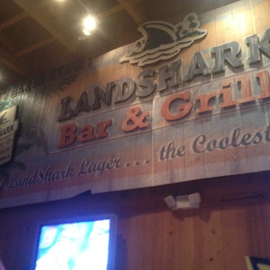 Photo taken at Landshark Bar & Grill by Brittney C. on 6/10/2012