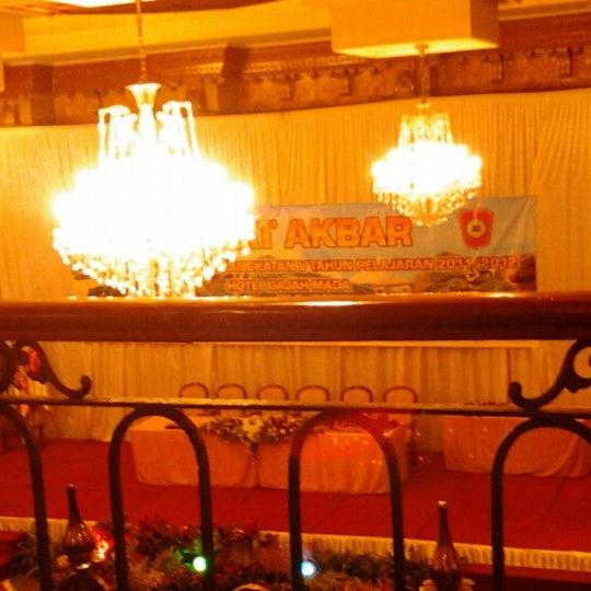 Photo taken at Hotel Gajahmada Graha by Dimaz R. on 6/11/2012