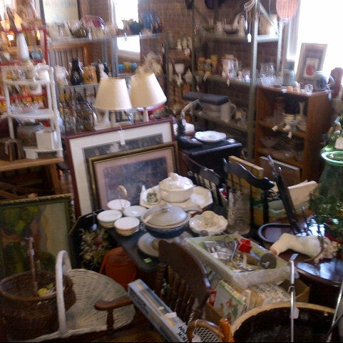 Photo taken at Avenue Antiques by Michael S. on 8/5/2012